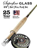 Orvis Superfine Glass 2-Weight 6'6' Fly Rod