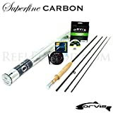 Orvis Superfine Carbon 2wt 6'0' Fly Rod Outfit...