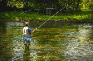 fast action fly rod