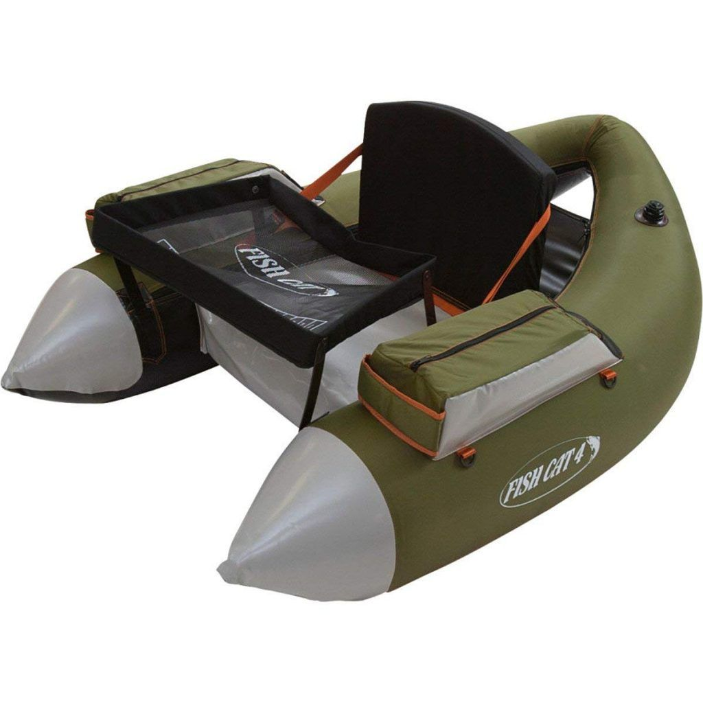 outcast fishcat float tube review