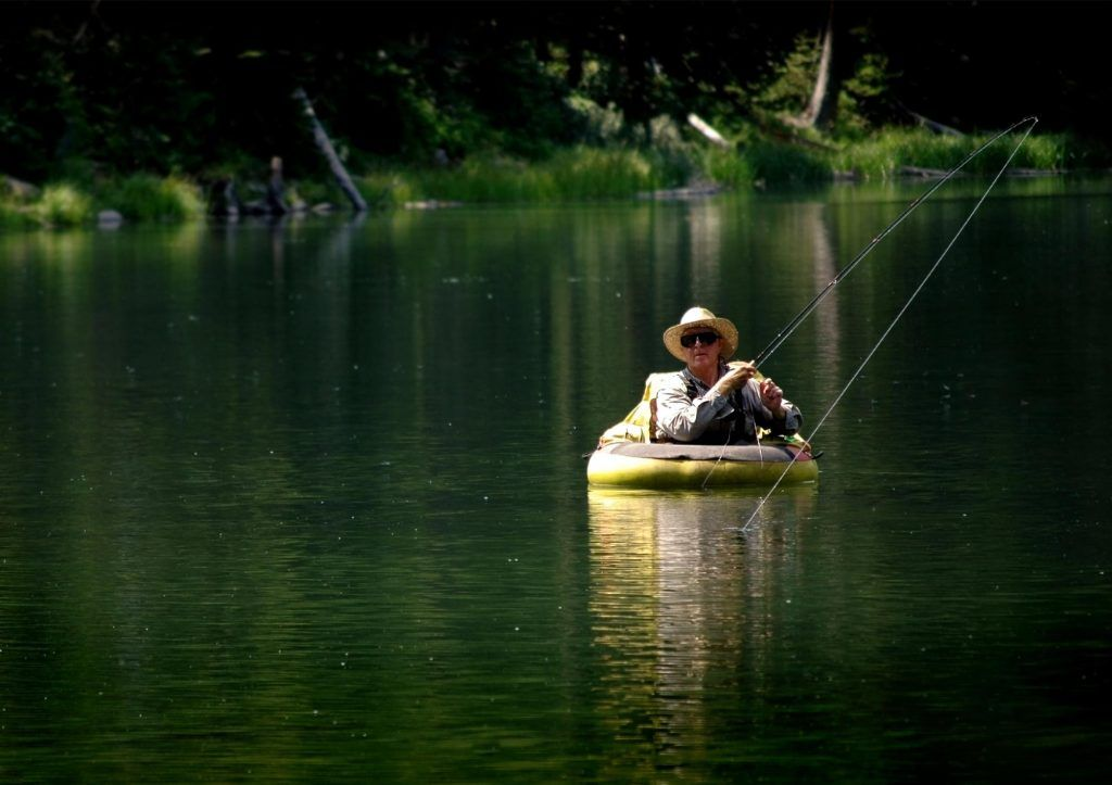 best float tubes for fly fishing