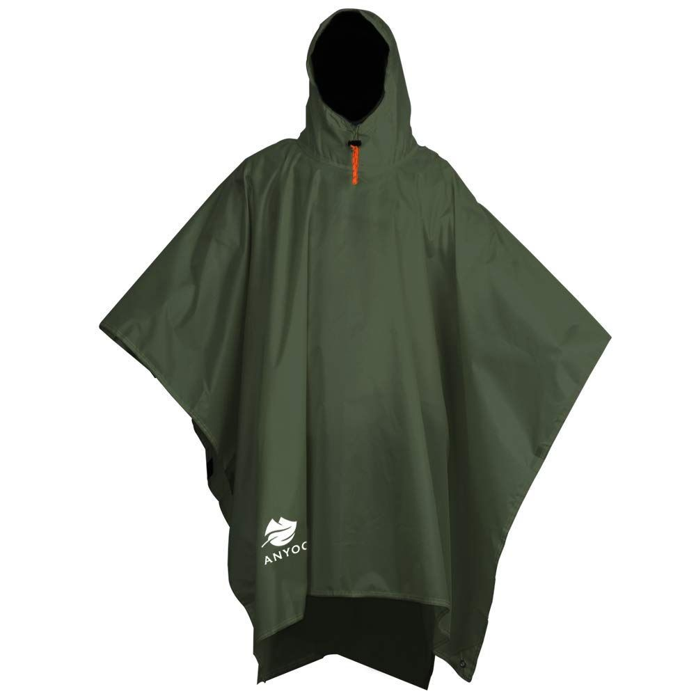 best rain poncho review