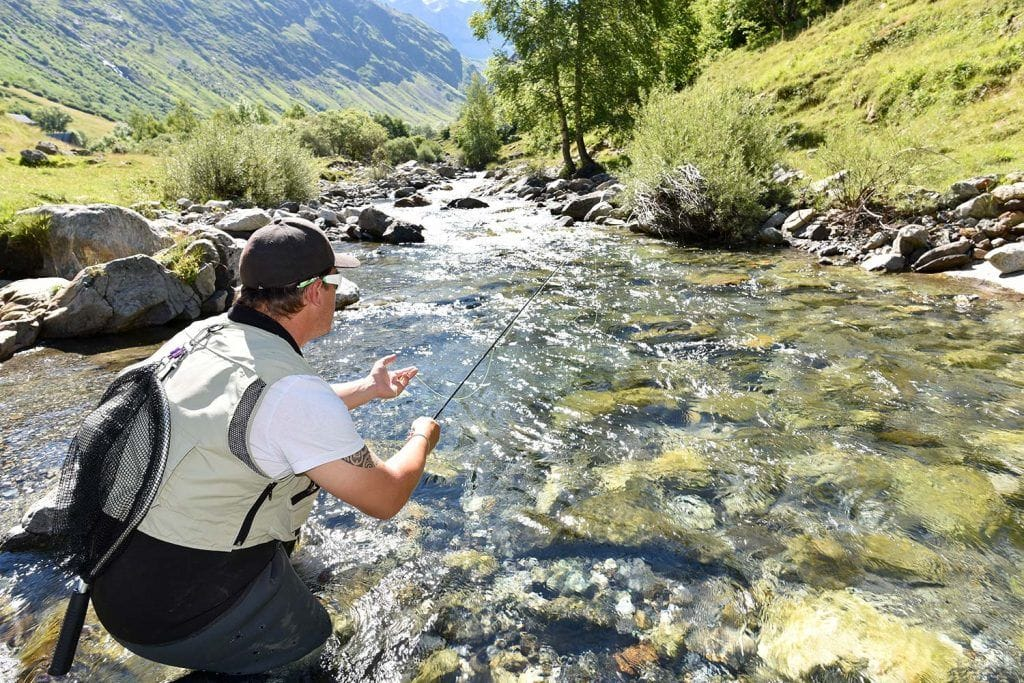 how to mend fly fishing lessons