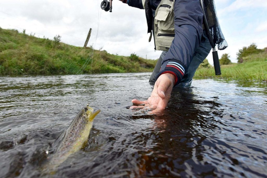 barbless hooks for trout fishing