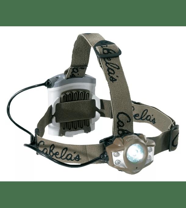 Cabelas by Princeton Tec Alaskan Guide XP Green Headlamp