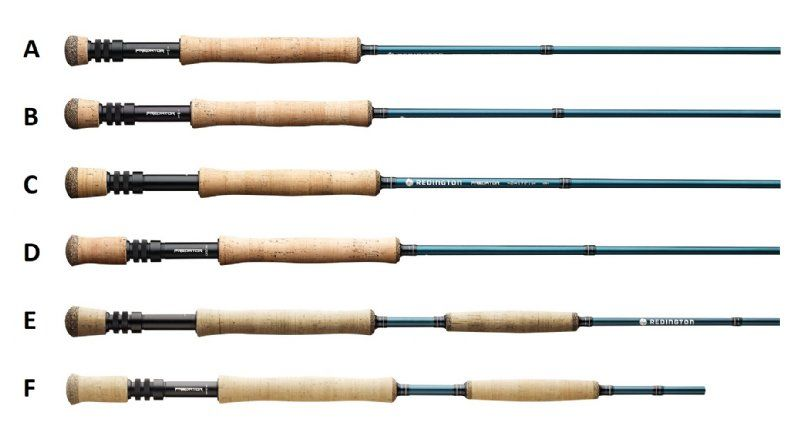 redington predator weights