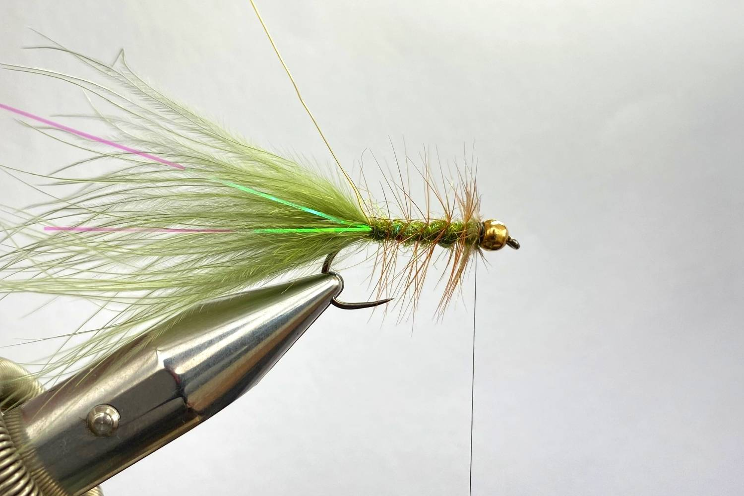 How to Tie The Wooly Bugger Fly step 11
