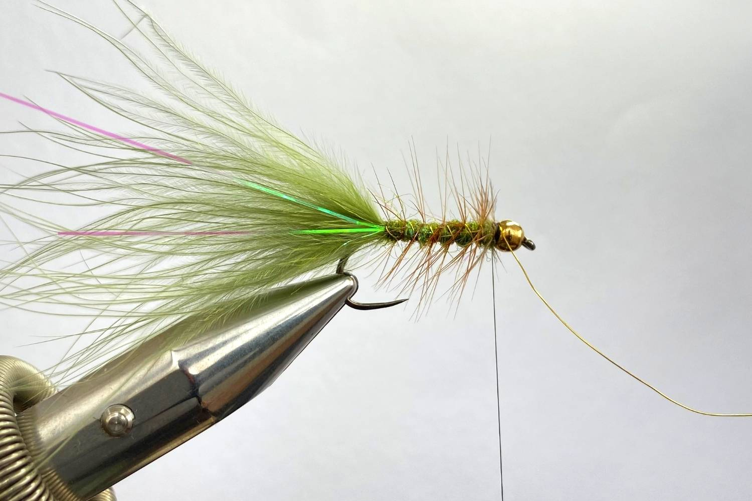 How to Tie The Wooly Bugger Fly step 12