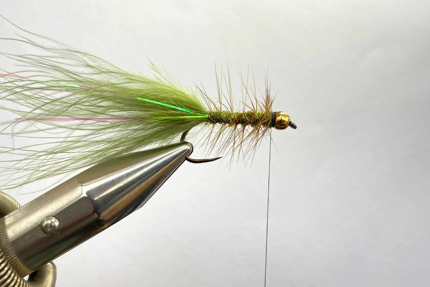 How to Tie The Wooly Bugger Fly step 13
