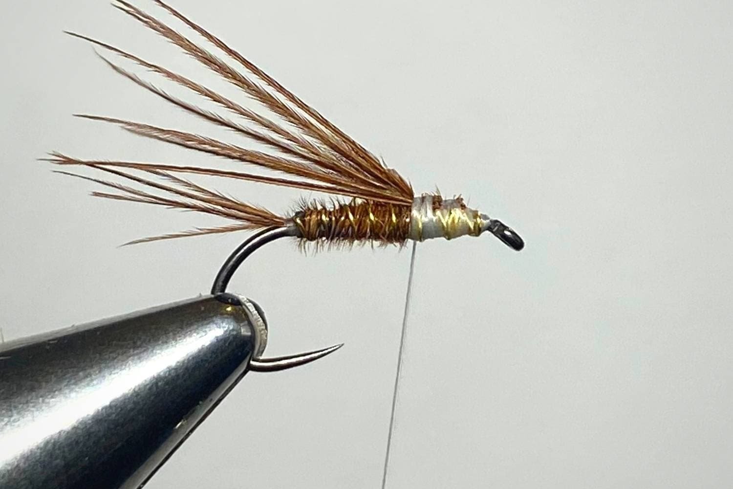 How to Tie a Pheasant Tail Nymph Fly step 7