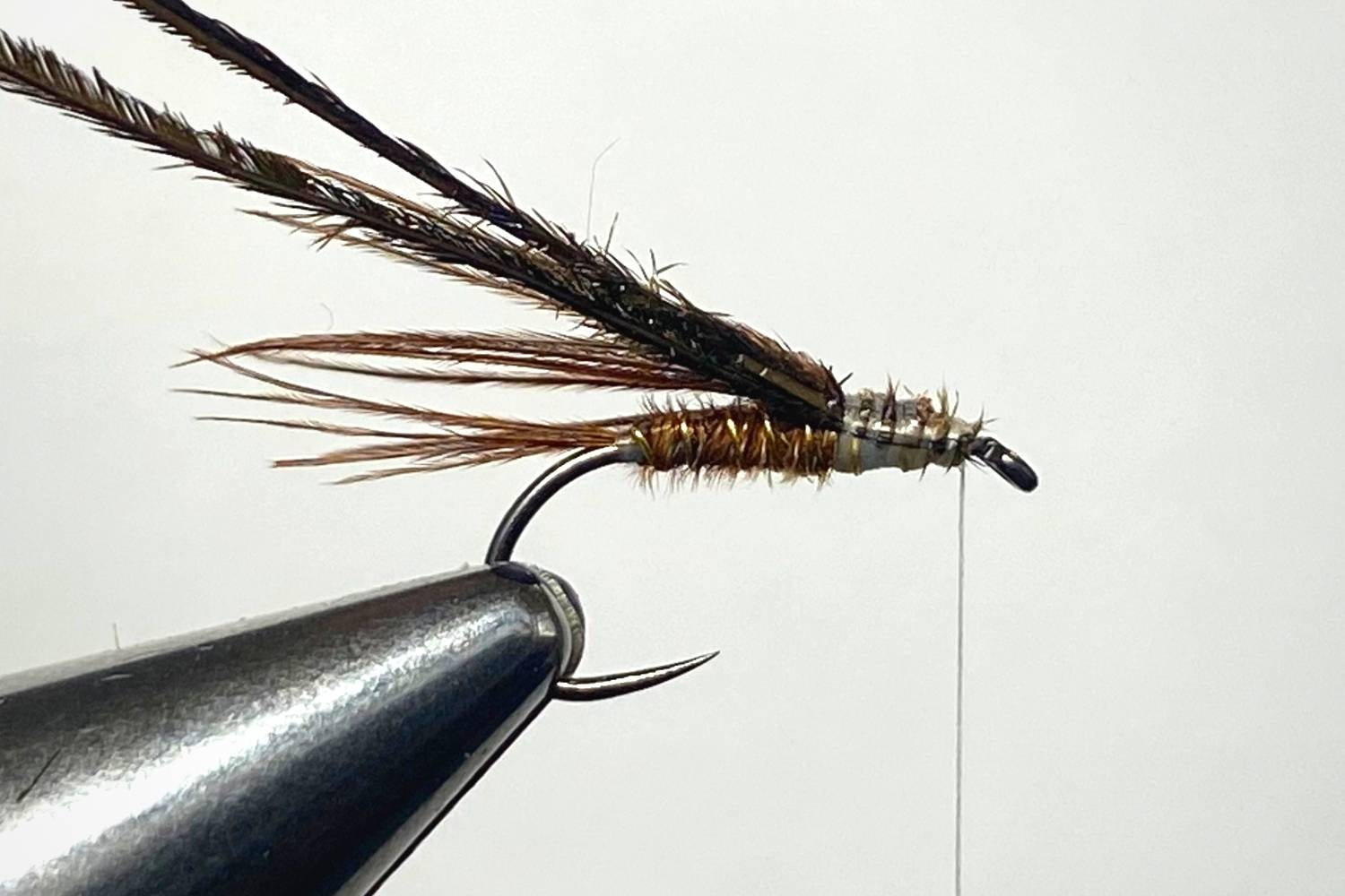 How to Tie a Pheasant Tail Nymph Fly step 8