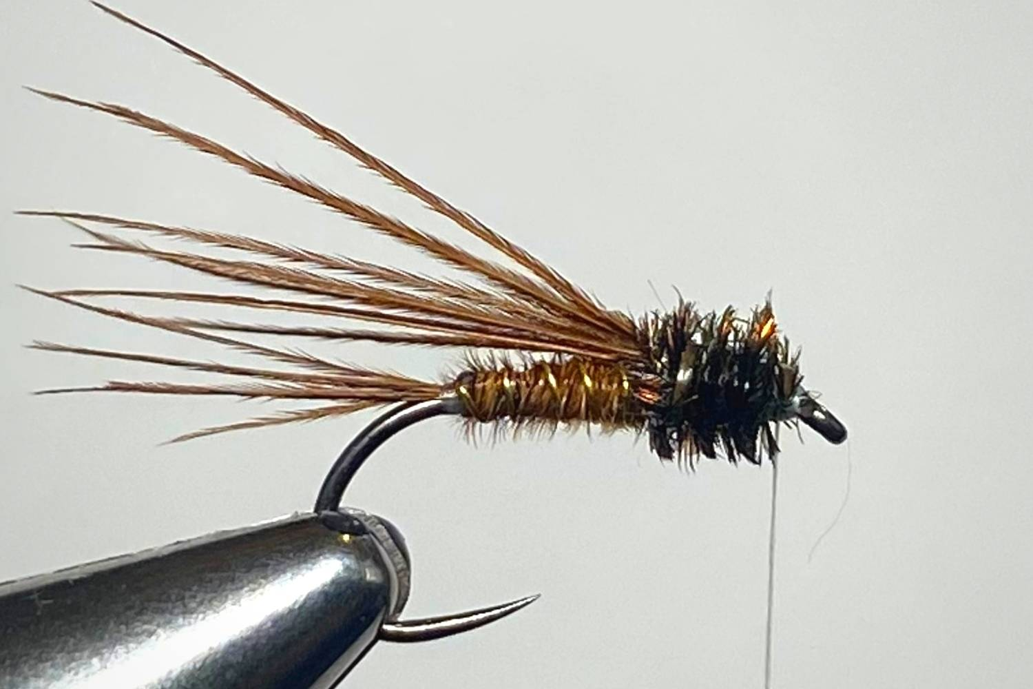 How to Tie a Pheasant Tail Nymph Fly step 9