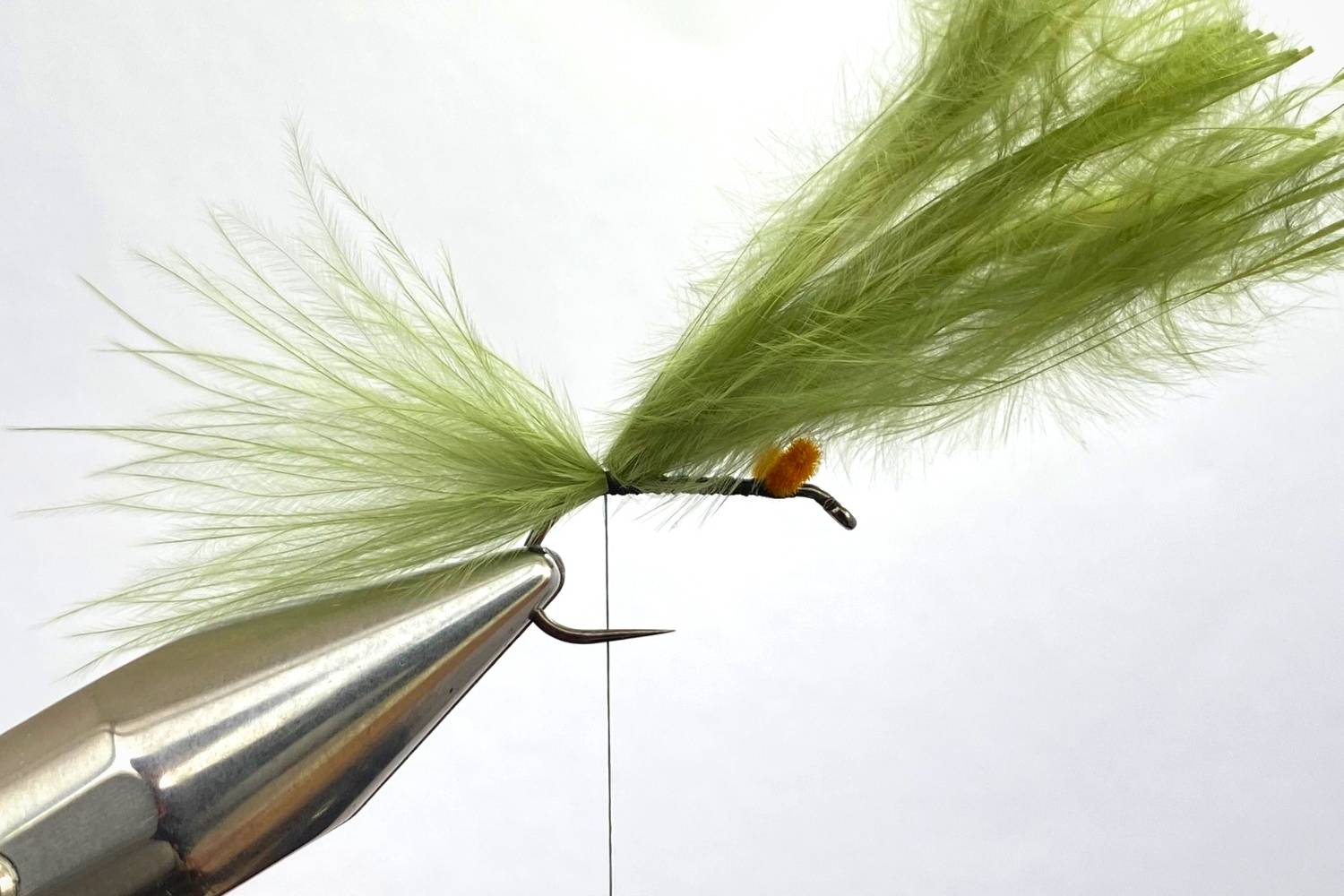 How to tie a Damselfly Nymph fly step 4
