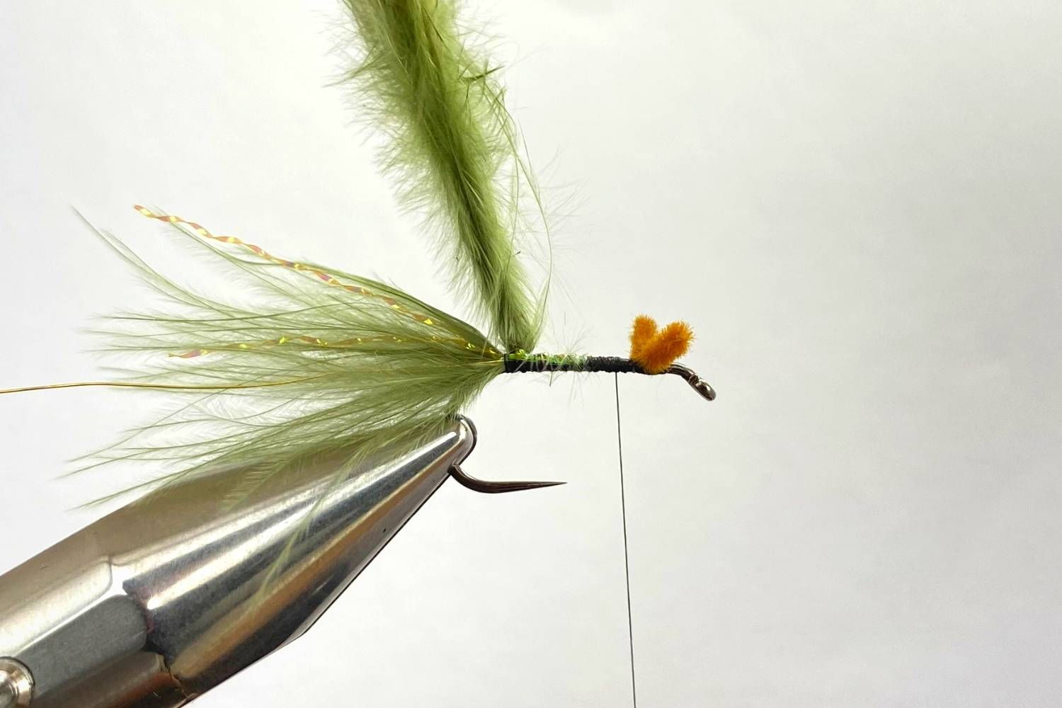 How to tie a Damselfly Nymph fly step 5