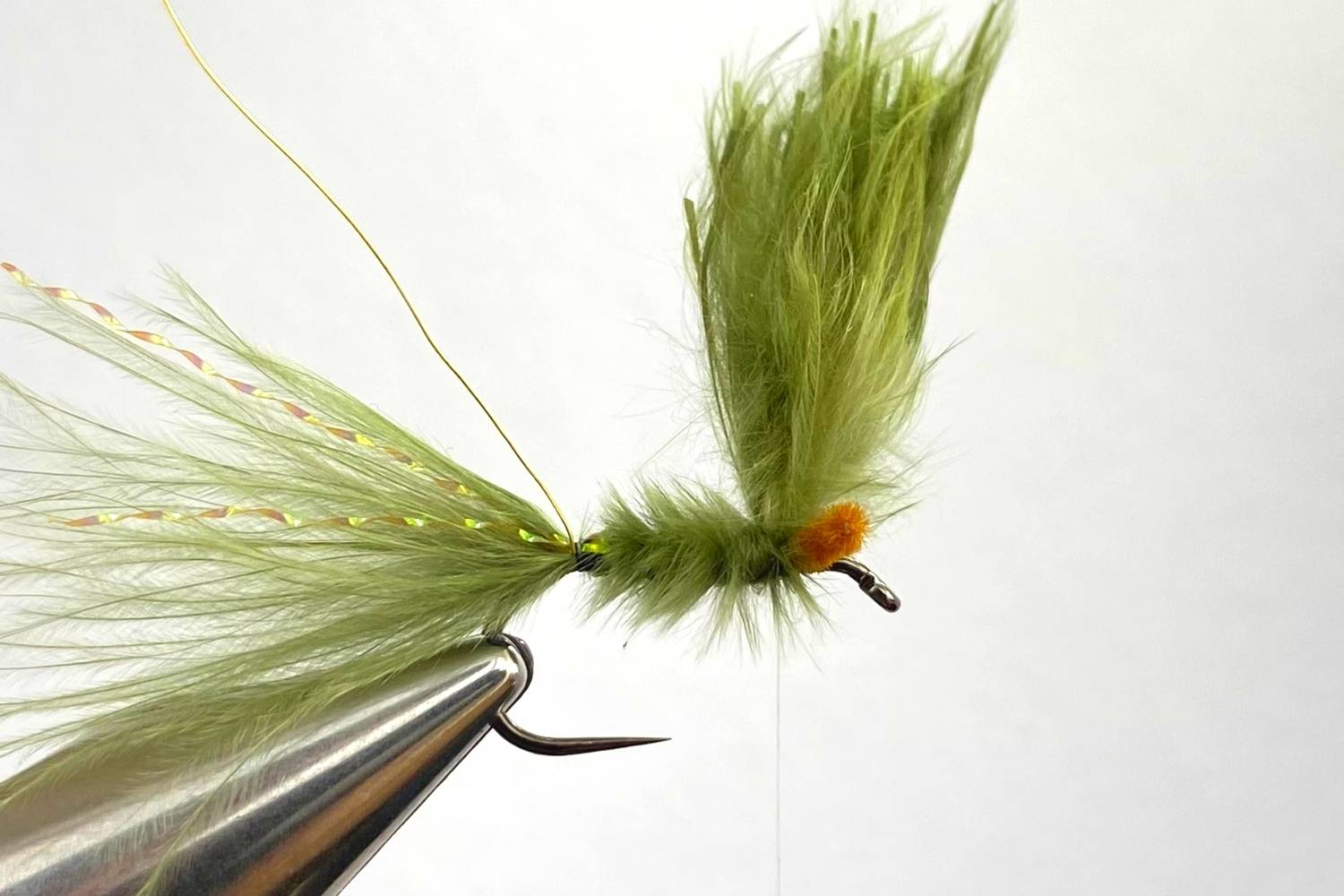 How to tie a Damselfly Nymph fly step 6