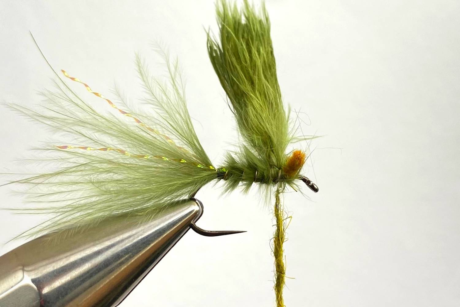 How to tie a Damselfly Nymph fly step 7