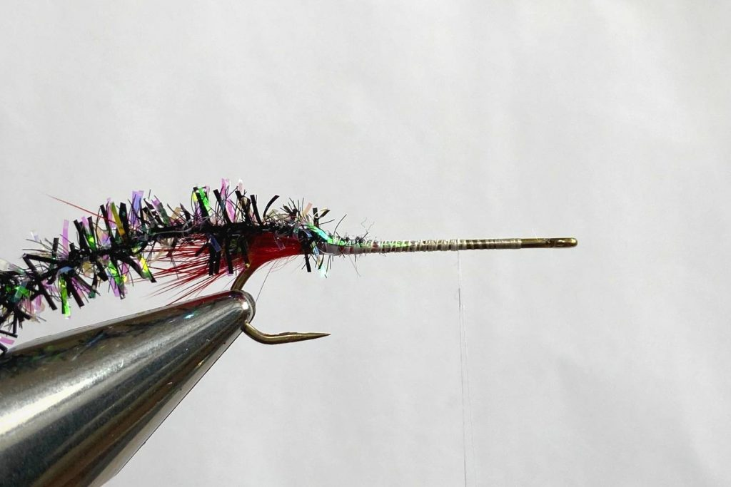 How to tie  the Muddler Minnow Fly step 4