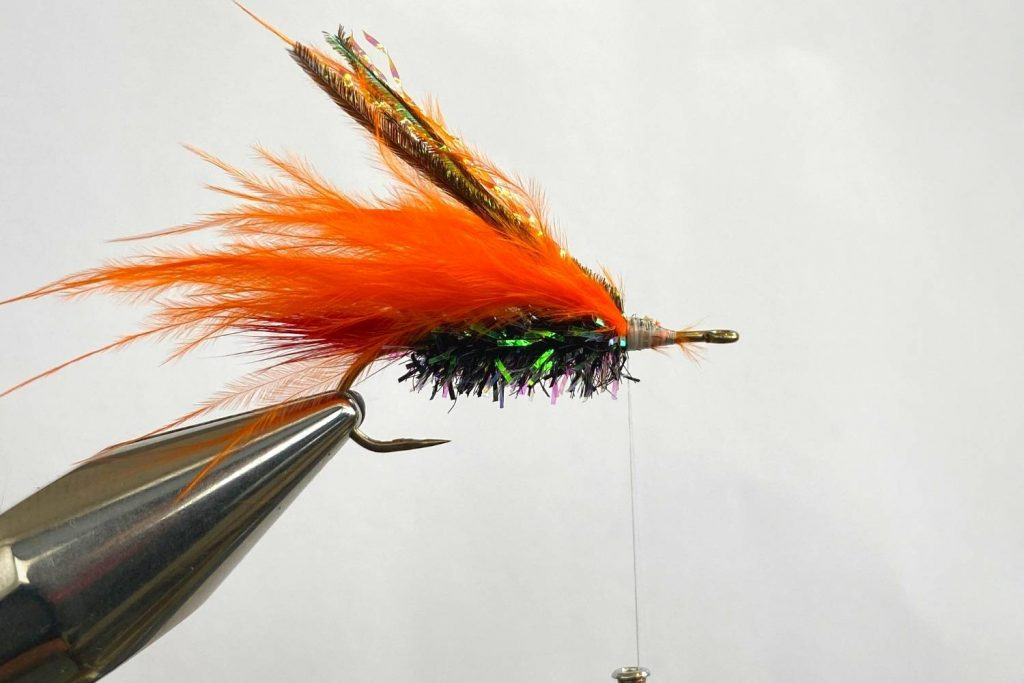 How to tie the Muddler Minnow Fly step 6