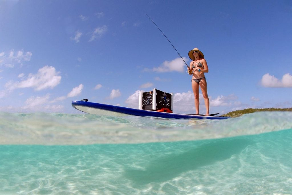 best stand up paddle board for fishing