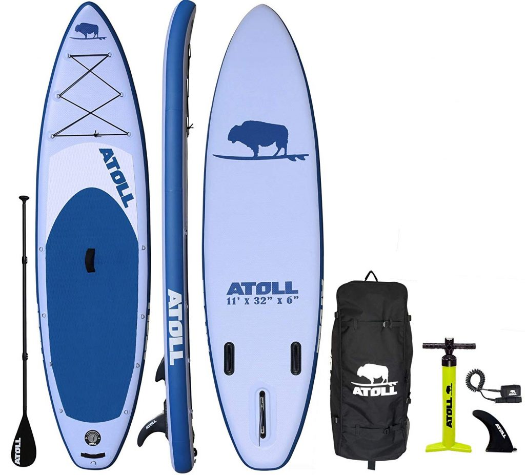 atoll fishing paddle board