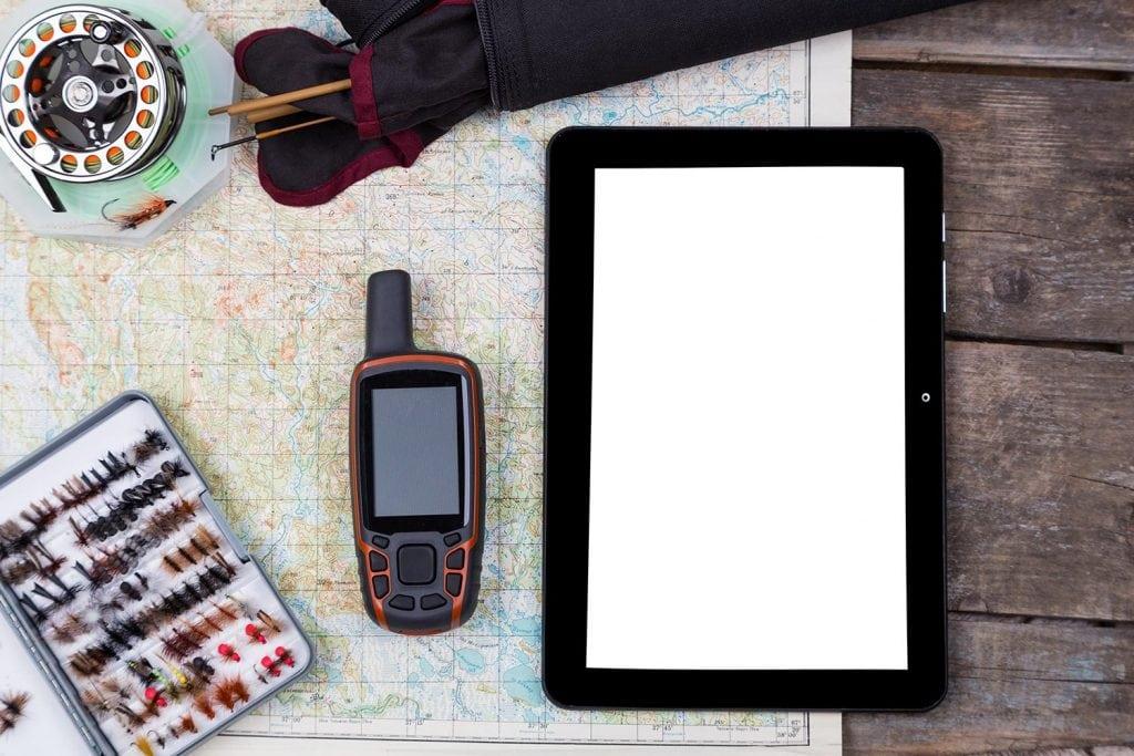 GPS for fishing