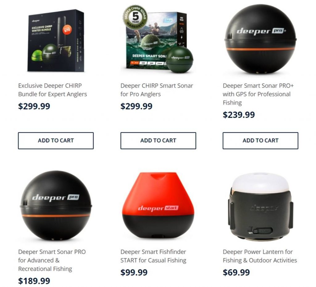 Deeper Fish Finder Buying Guide