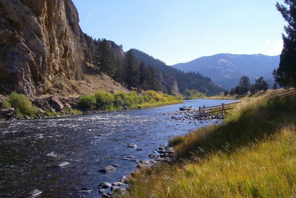 The Big Hole River