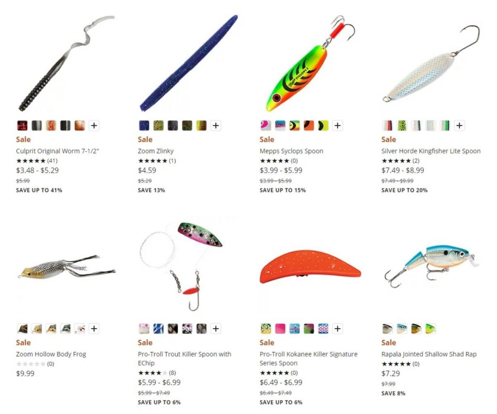 Bass Pro Discount Lures