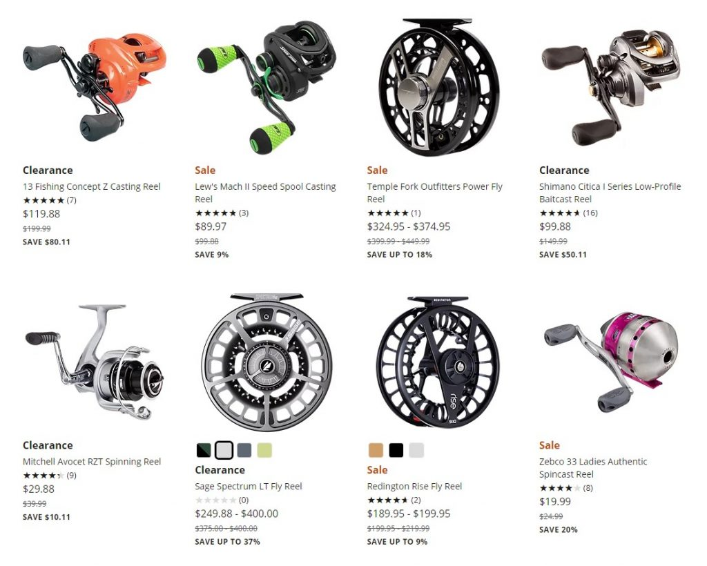 Cabela's discount fly reels