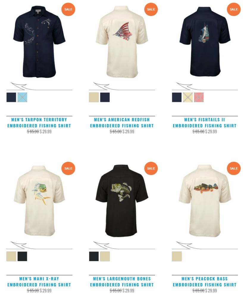 Hook And Tackle Apparel Sale
