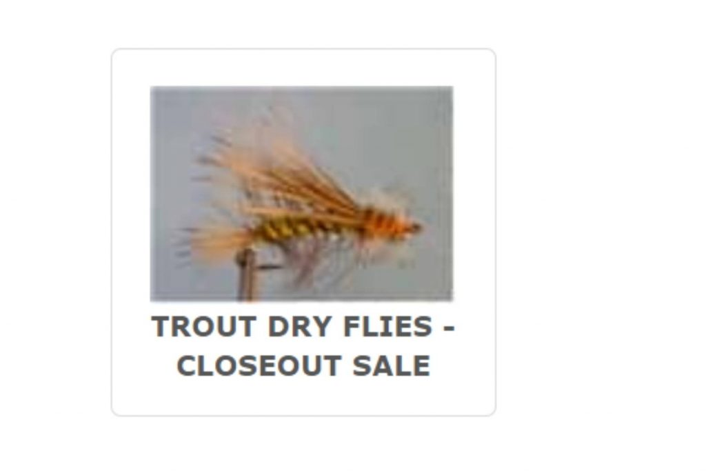 Platte River Fly Shop Discount Flies