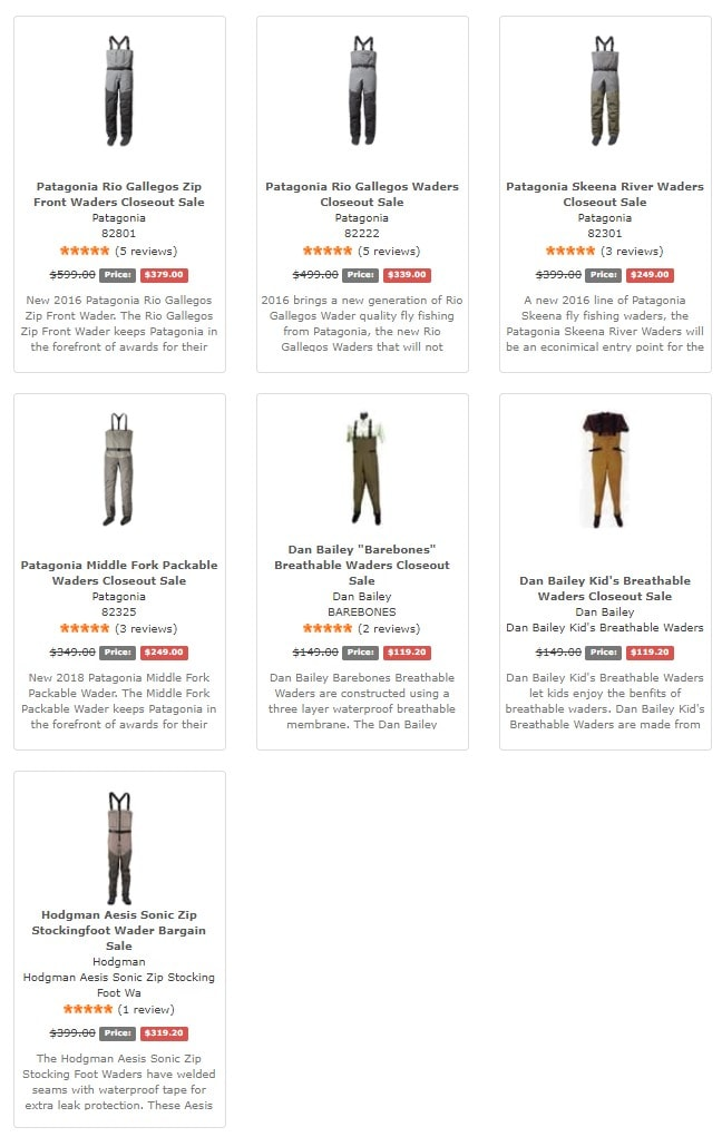 Plattriverflyshop discount waders