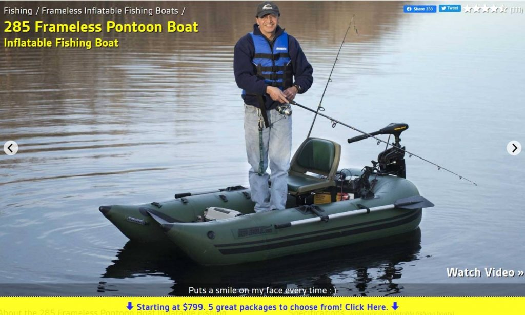 Seaeagle Pontoon Boat Sale