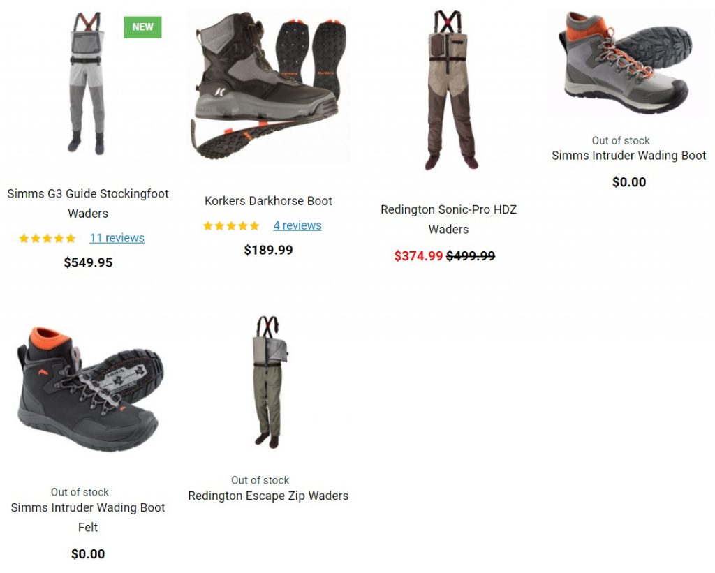 Tridentflyfishing discount waders