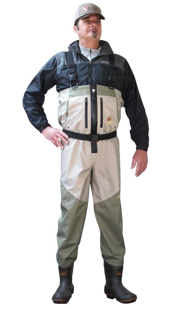 Zippered Deluxe Plus Breathable Wader