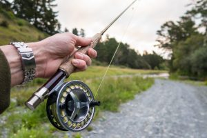 how to set up a fly rod