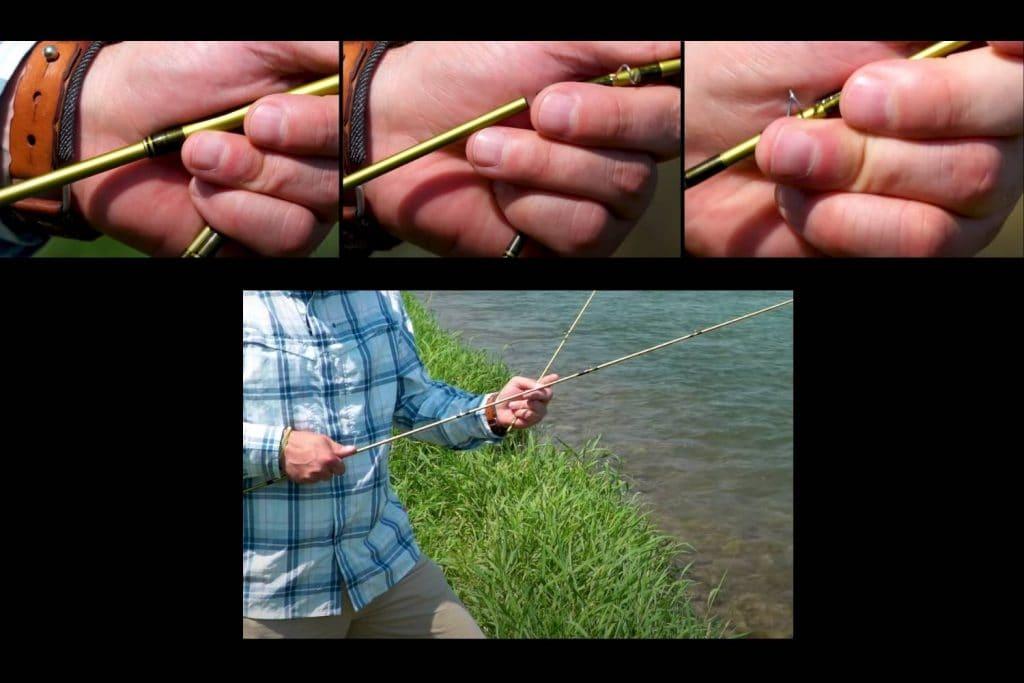 Assembling Fly Rod