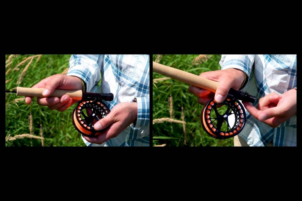 Attaching Fly Reel to Fly Rod