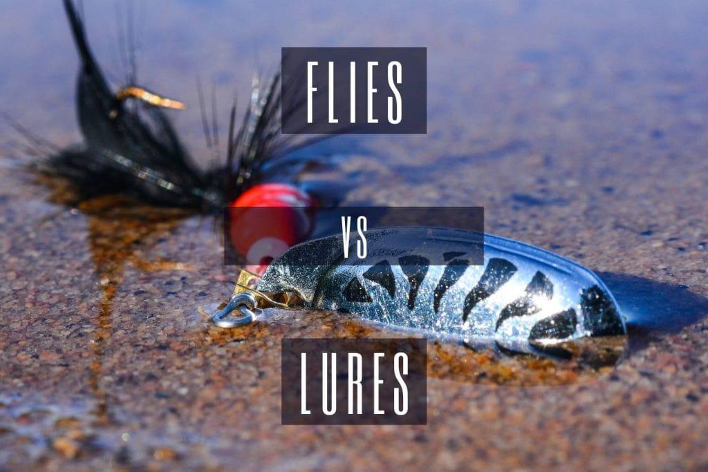 Flies vs Lures
