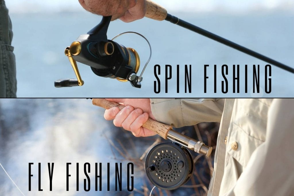 Fly Fishing vs Spin Fishing