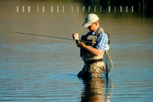 how to use tippet rings