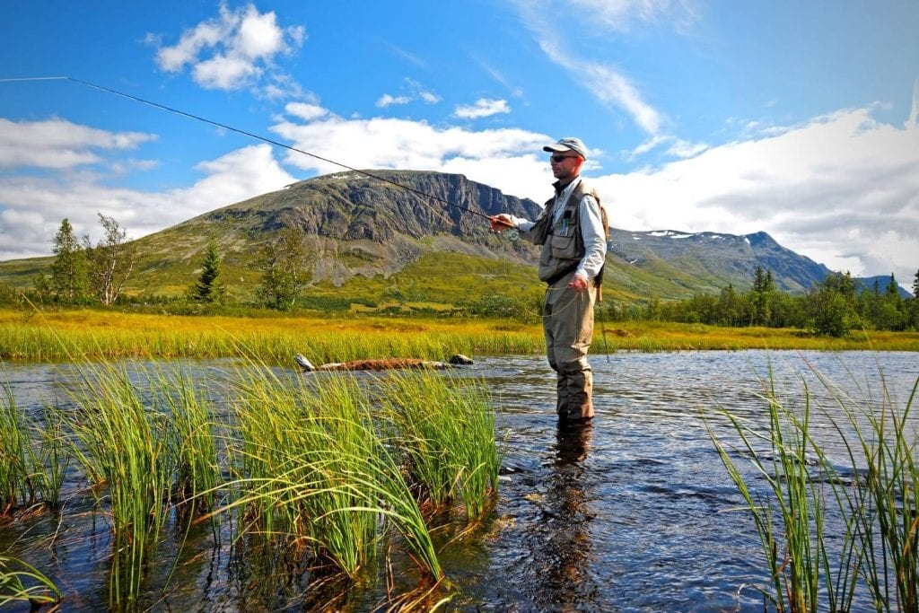 Is using a practice rod the same as using a fly rod
