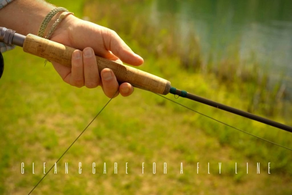 how to clean and care for a fly line