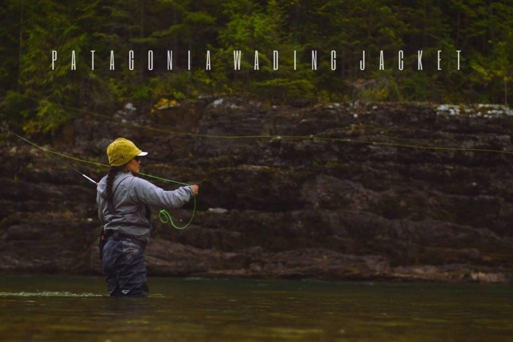 patagonia wading jacket