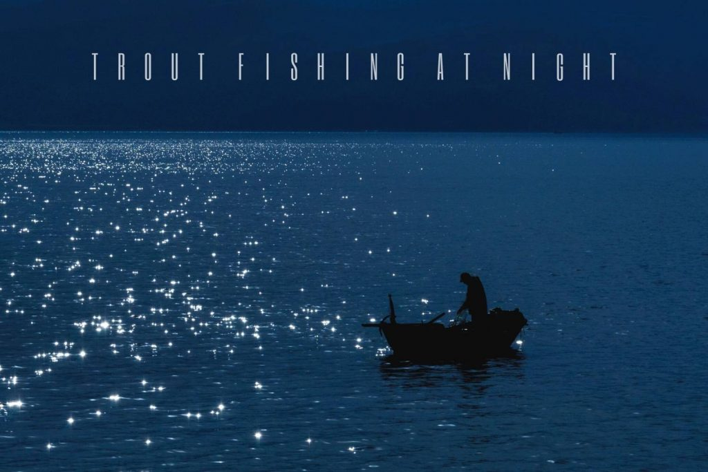 tips for trout fishing at night