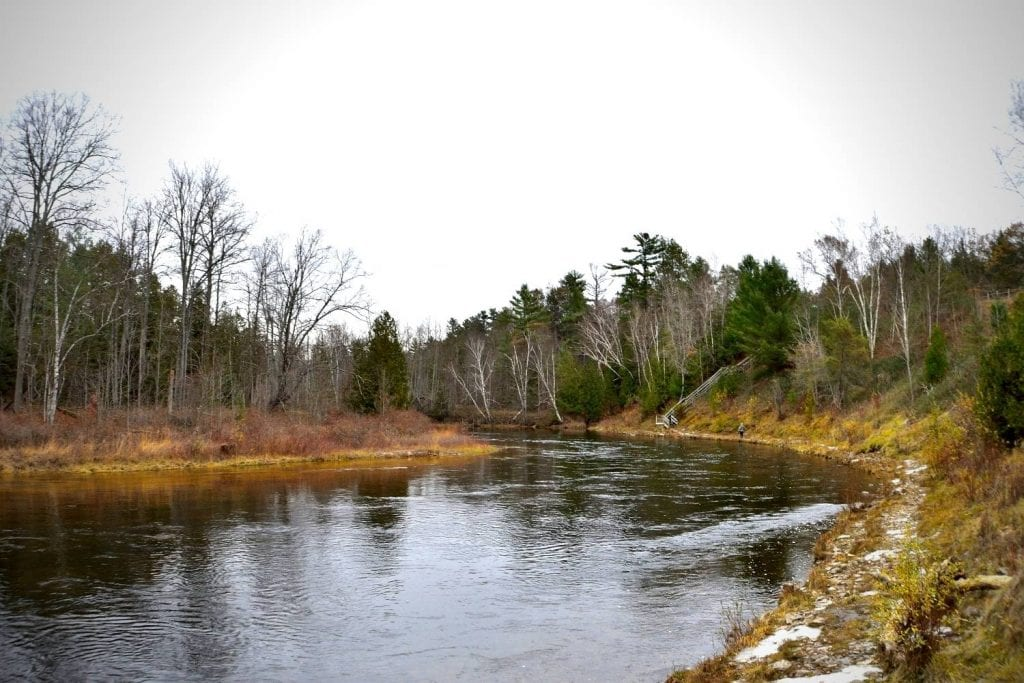 Au Sable River Michigan