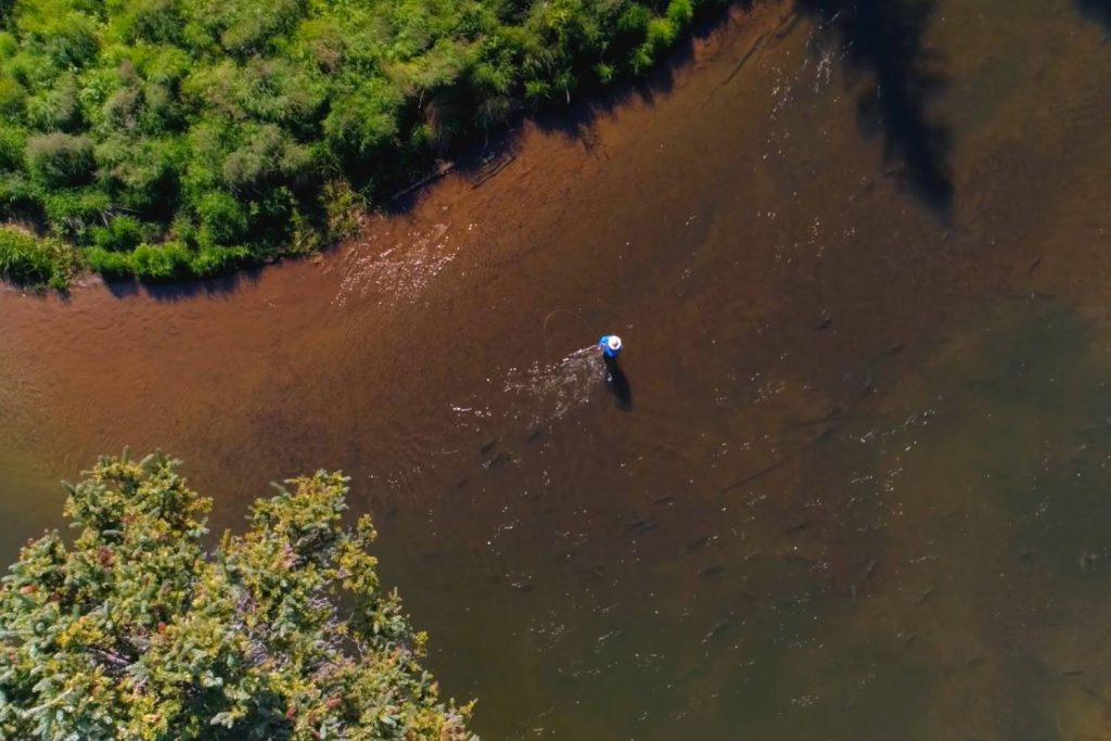 how to fly fish on rivers and streams