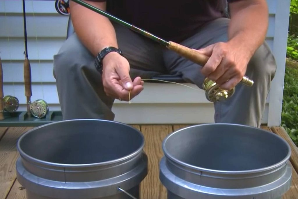 How often should you be cleaning a fly line