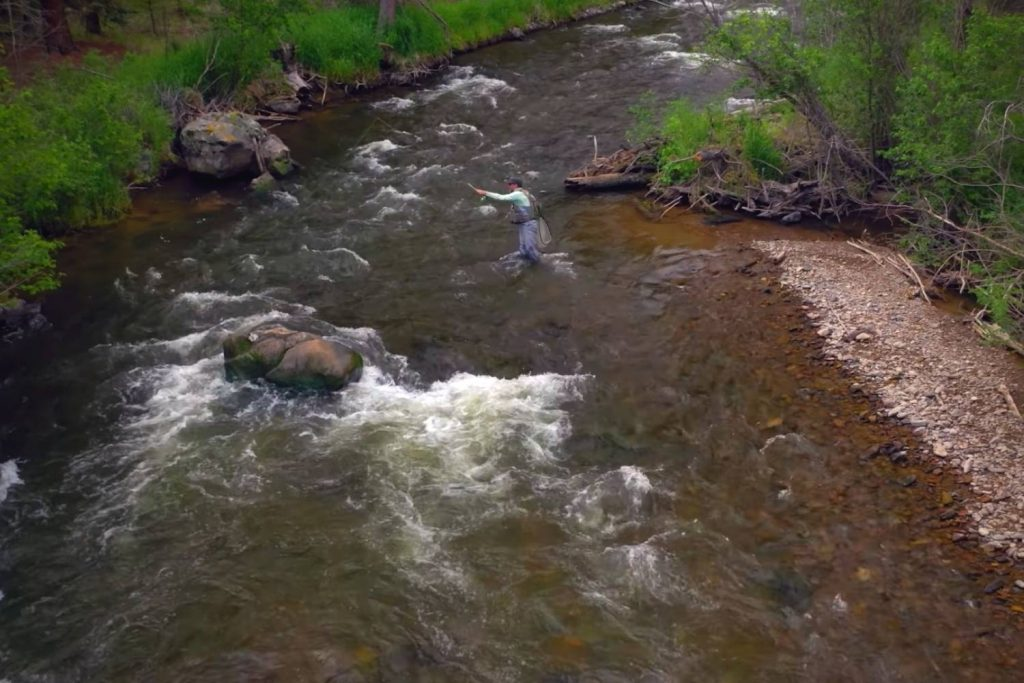 How to catch trout on nymphs, streamers, and dry flies in a river or stream