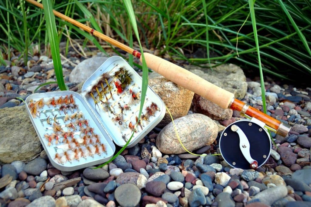 Selecting the perfect fly rod set up and flies for catching bluegill